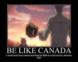 Trying to be like Canadian by pokepark2