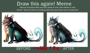 Meme  Before And After by ZuLei1010