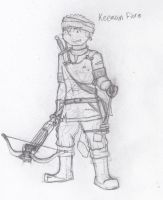 Keenan Fiore The Crossbowman by Typical-Mental