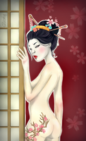 Geisha by Shortyyy