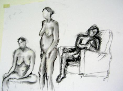 Life Drawing 4 by opsmainframe