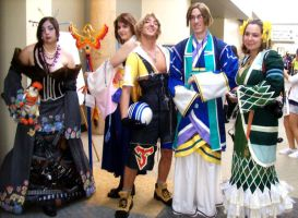 FFX by Roguefairy