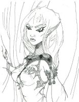 Drow by masokist