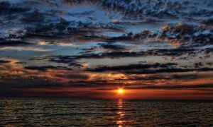 baltic sunset by harley-daniels