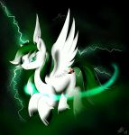 : C : Fly by the Storm by BluDraconoid