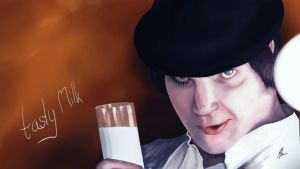 tasty Milk - Clockwork Orange by zylol