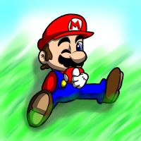 Mario's Mushroom-Colored by mosobot64