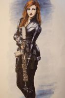 Agent Romanoff by ThomChen114