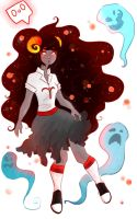 Aradia Ghost by cocoaCatastrophy