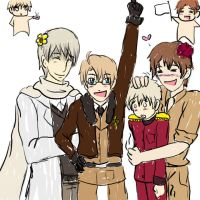 Hetalia AB group by Darkfire75