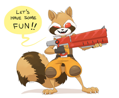 Rocket by YellowHellion