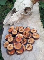 Willow runes by Spirit Of Old by SpiritOfOld