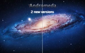 Andromeda Galaxy retouch by sirtristan209