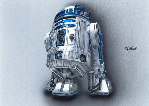 R2-D2 time lapse http://youtu.be/Yjmg2HwXab8 by personnedali
