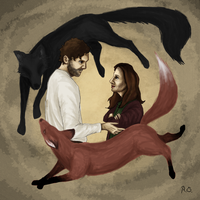 You know, foxes and wolves don't really get along by rebeckaolander