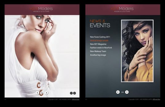 FB Template - MODELS AGENCY by pezflash