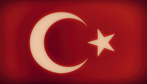 Turkish flag by UziGraphic