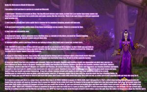 Newbs Guide to warcraft by SweetMegara