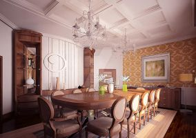 Classique Dining 1 by Gsobeea