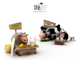 Sheeps get you drink by bsign
