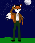 Chris the Fox redesign by Dragonrider1227