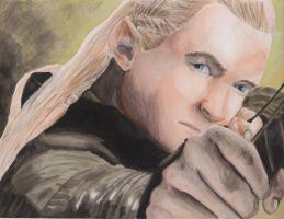 Legolas by spikeandshay