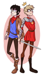 You're My King and I'm Your Lionheart by Ampersand-Art