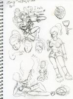Scratch'n'Sniff Sketchbook Page 22 by KatrinaTheLamia