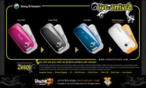 Sony Ericsson Z610i by stitchDESIGN