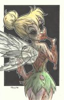 DISNEY ZOMBIE MASTERWORKS - TINKERBELL by leagueof1