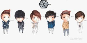 Exo M by wundrfool