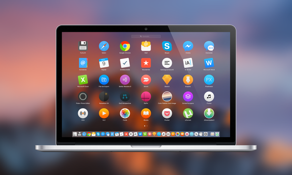 Yosemite style icons set preview by TigerCat-hu