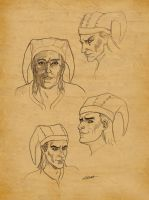 Cicero Sketches by SlayerSyrena