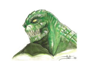 killercroc by LucaStrati