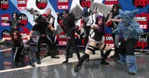 Uncanny X Force @ C2E2 2012 by MonkeySquadOne