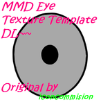 MMD Eye Texture Template by IcyBreeze8
