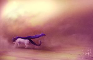 Dust Storm. by ArtByRiana