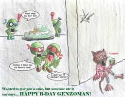 TMNT - Bday gift to Genzoman by GhostHead-Nebula