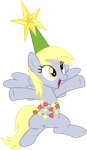 Derpy - The Tree Ornament by CaliAzian