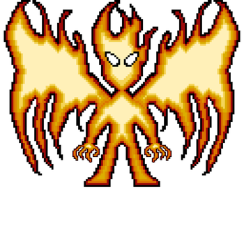 Fire Elemental by TheAlphaGamer5