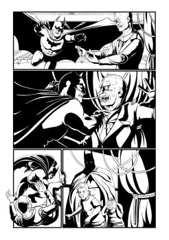 Batman page 3 by Mike-Bunt