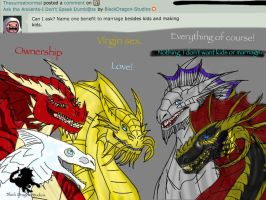 Ask the Ancients Q5: Marriage Perks by BlackDragon-Studios