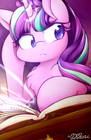 Starlight in the Library by DShou