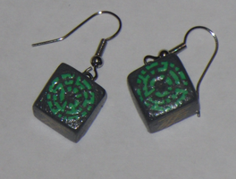 Pandorica Earrings by bones-sickle