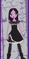 Purple in Goth by esmeone