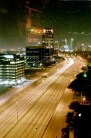 Downtown Dallas at night by darkwolf777