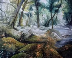 Forrest scene by BecciES