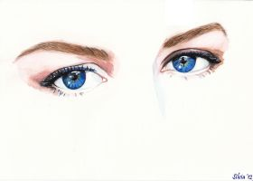 Nicole's eyes by SilviaDiMauro