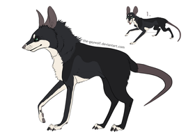 Madra Pup by the-gaywolf