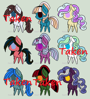Pony adopts, bidding starts with 2 points! by Snowkitty129